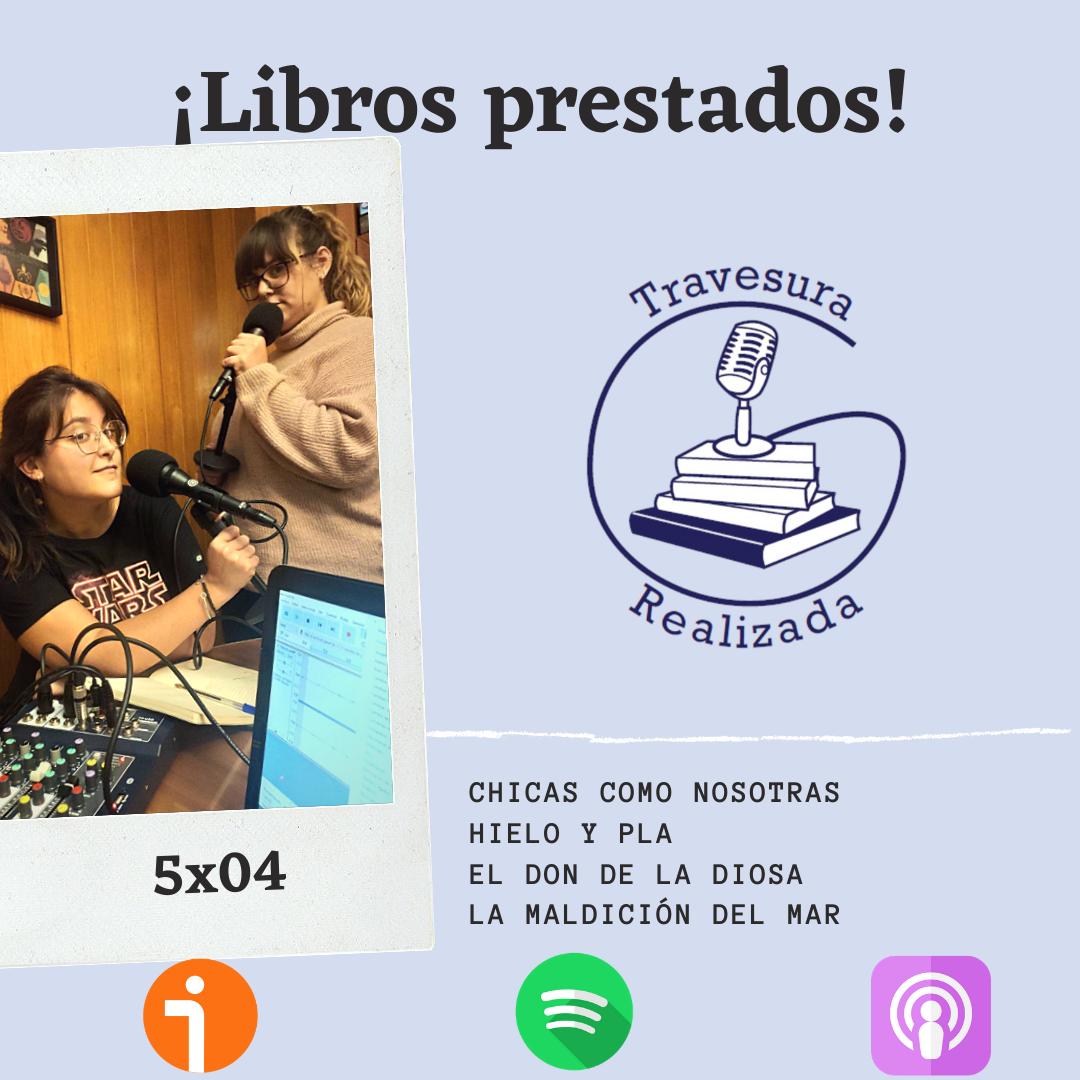 TR 5×04 – Los libros que nos hemos prestado y el nivel de inglés de Luis