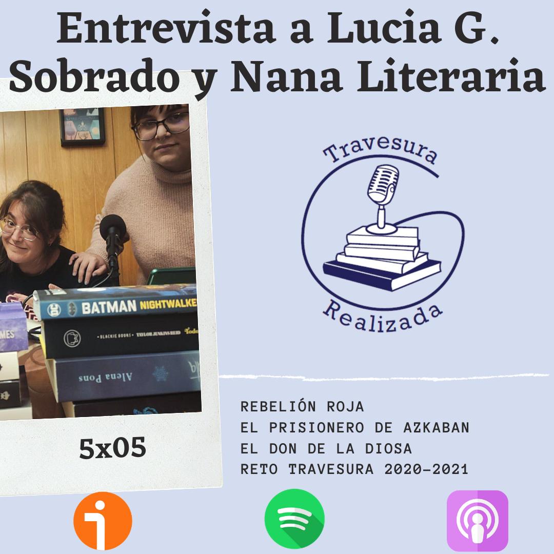 TR 5×05 – Entrevista a Lucia G. Sobrado y Cristina Prieto por Rebelión Roja