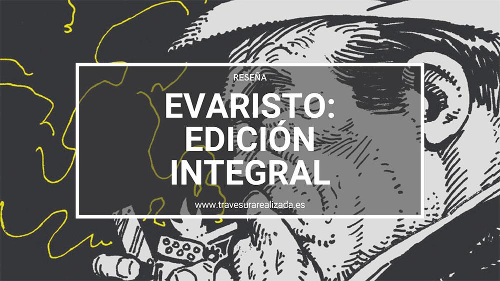 Reseña del cómic 'Evaristo'